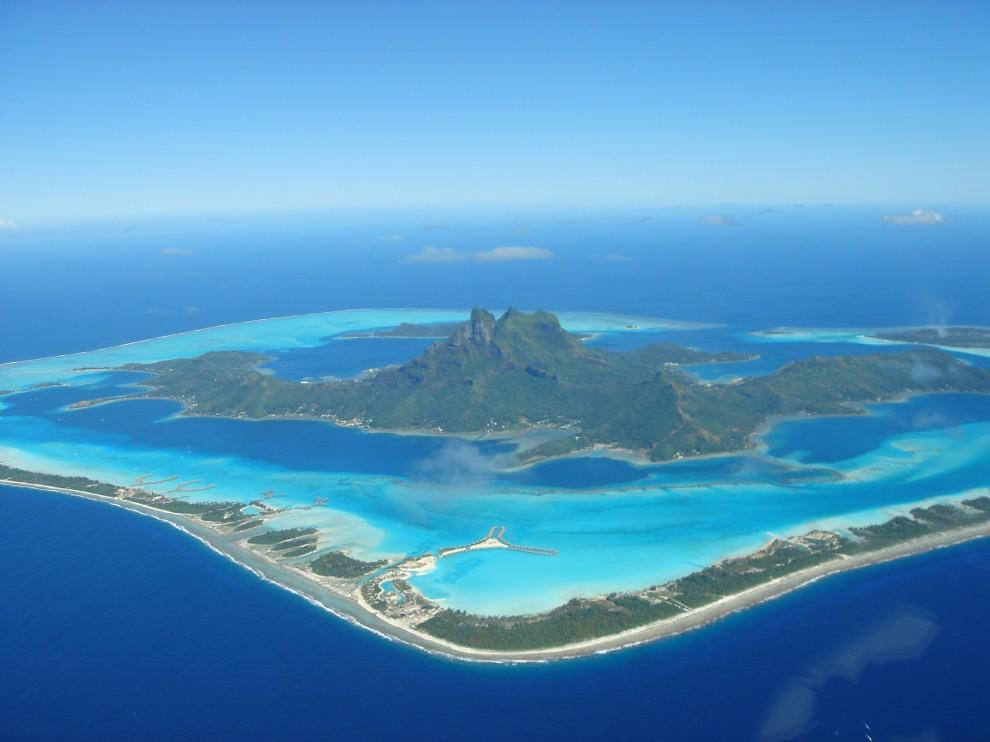 Бора-Бора (Французская Полинезия).