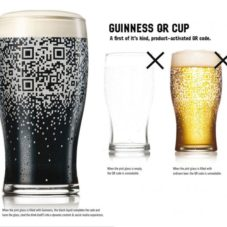 Guinness будет предлагать «хитрые» бокалы с QR-кодом