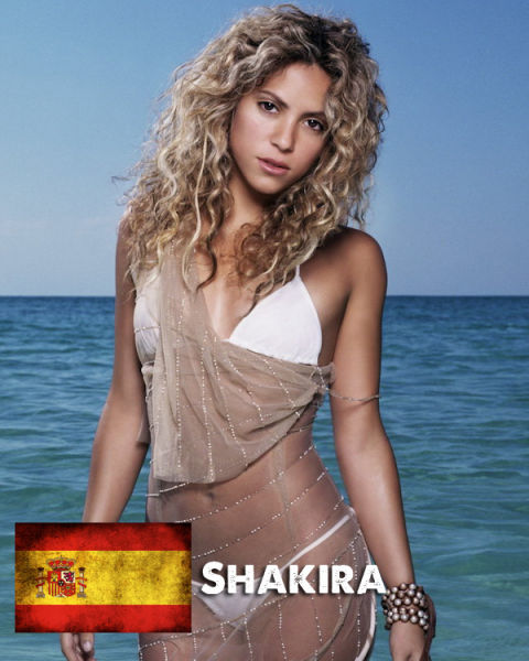 Шакира – Херард Пике (Испания)
