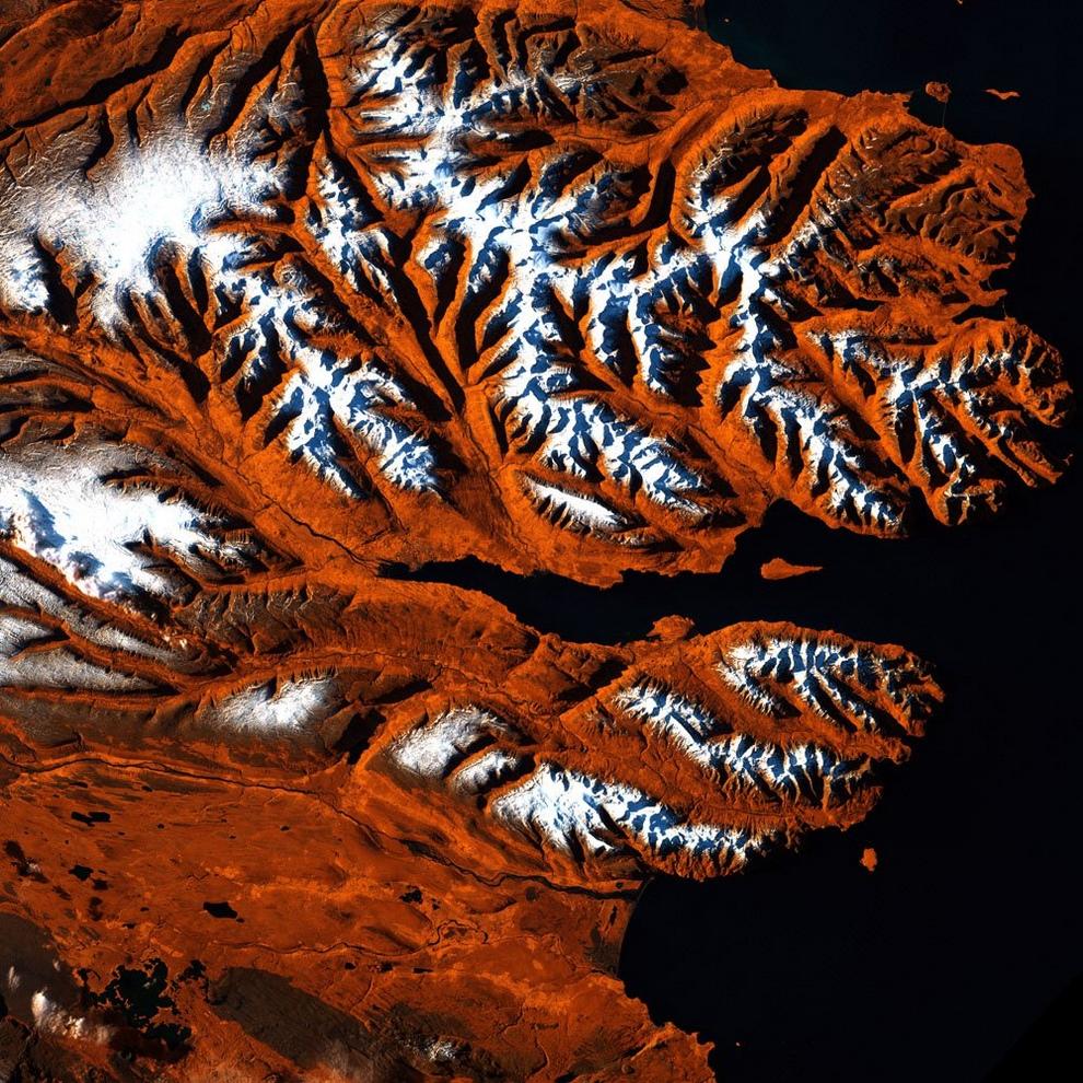 Северное побережье Исландии.
