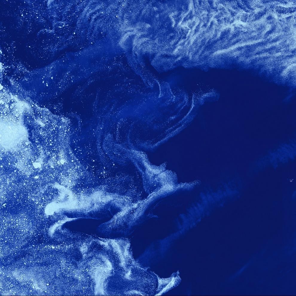 Бассейн Фокс около Баффиновой Земли в канадской Арктике.