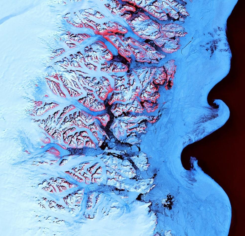 Побережье Гренландии.