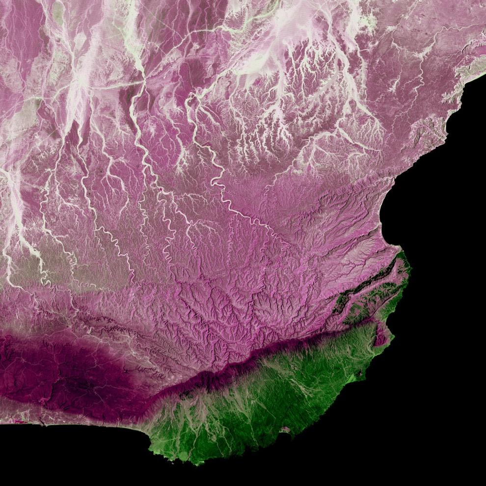 Район Дофар, Оман.