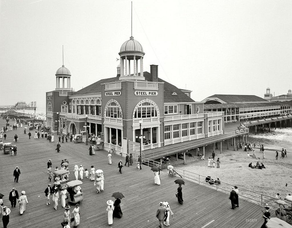 Атлантик-Сити, 1910 год.