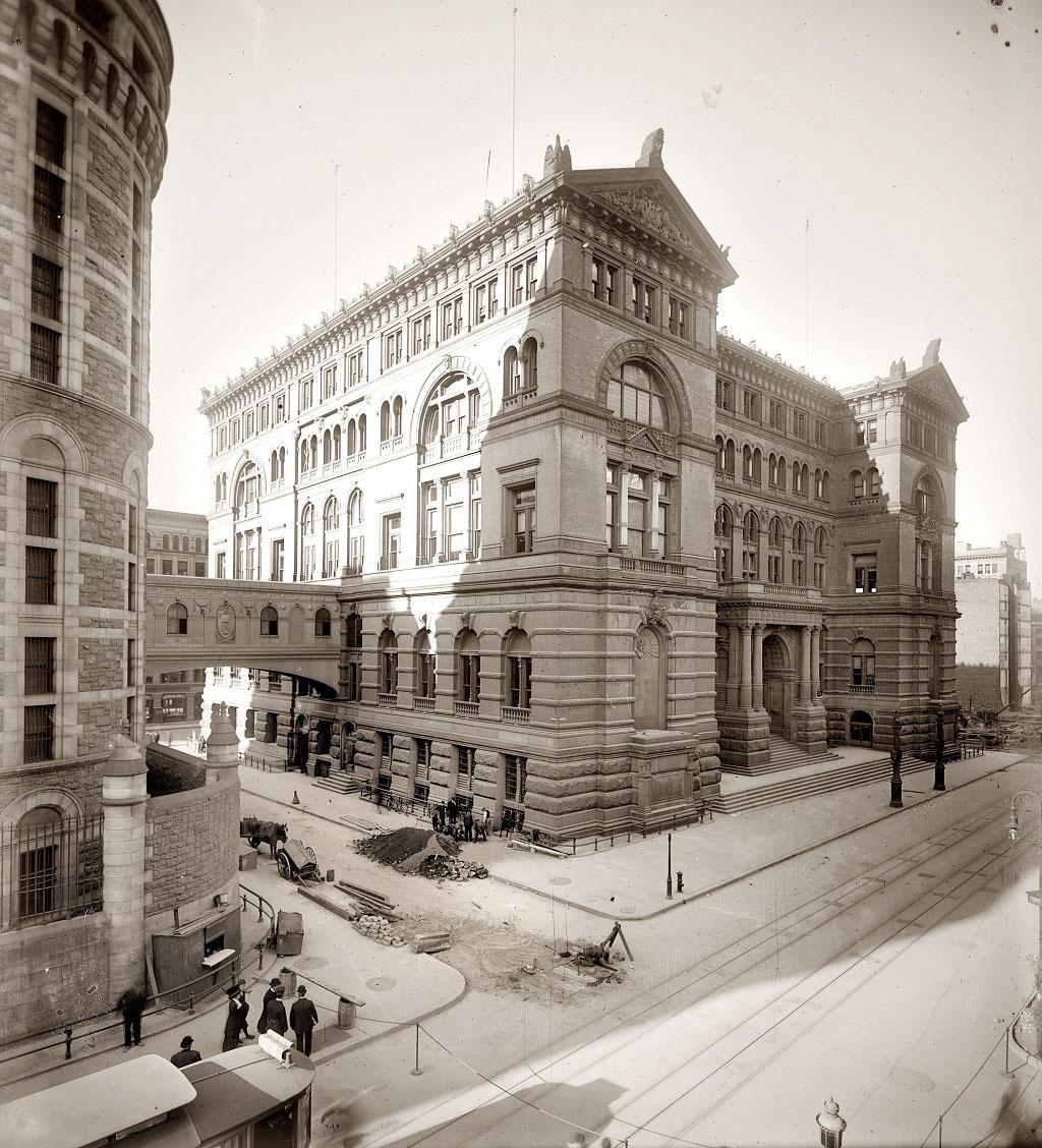 Манхэттен, 1907 год.