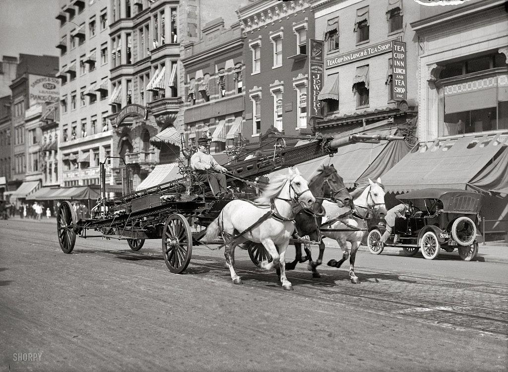 Вашингтон, 1914 год.