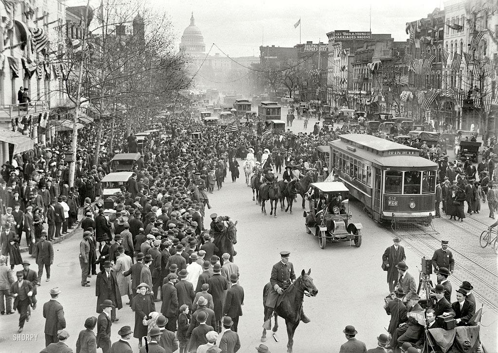 Вашингтон, 1913 год.