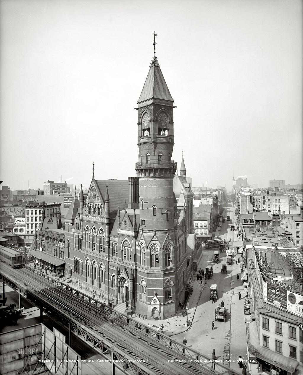 Нью-Йорк, 1905 год.