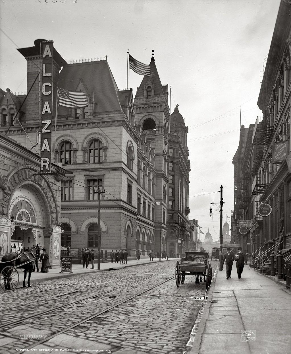 Почтовое отделение, Бруклин, Нью-Йорк, 1906 год.