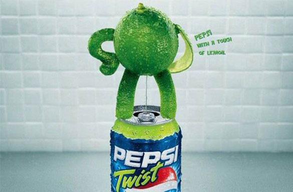 Pepsi Twist с лимоном