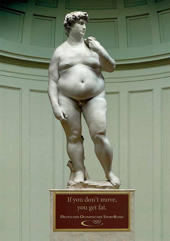 Если вы не двигаетесь, вы толстеете. Немецкая Олимпийская Спортивная Конфедерация