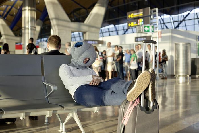 Ostrich-Pillow-airport