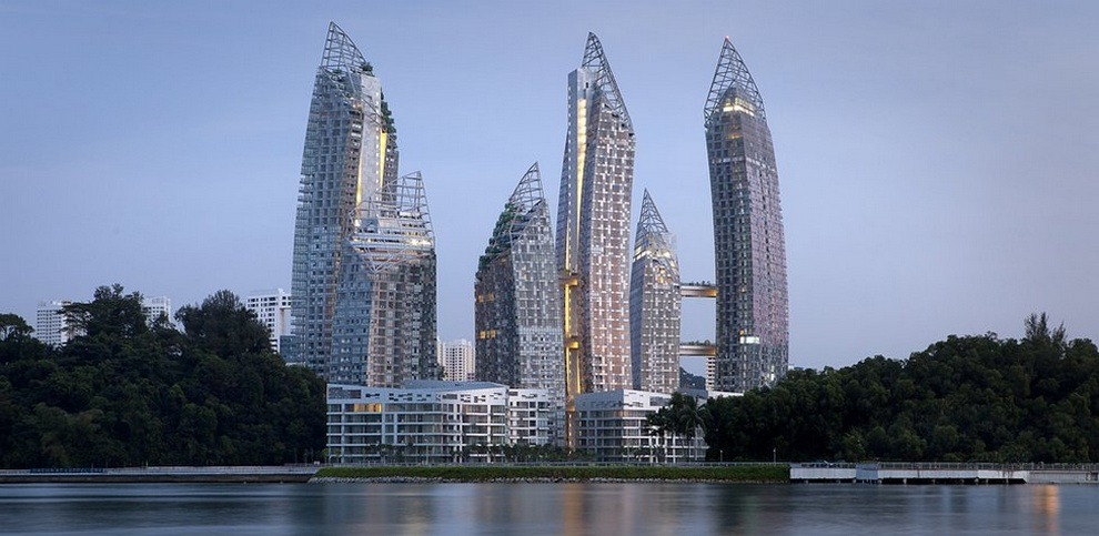 Жилой комплекс Reflections at Keppel Bay площадью 93 000 кв. м, Сингапур. Завершенный проект.