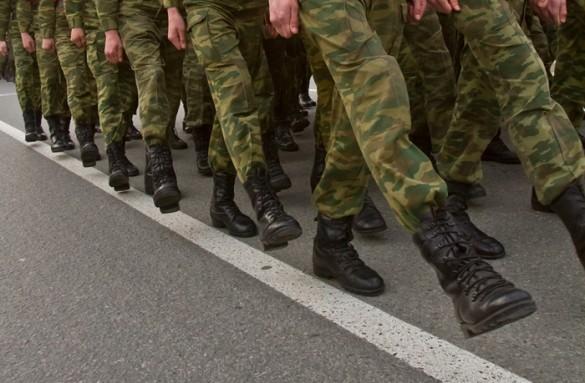 армия солдаты - фото Михаила Калянова