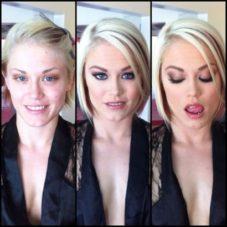 Порнозвезды без макияжа и во всей красе