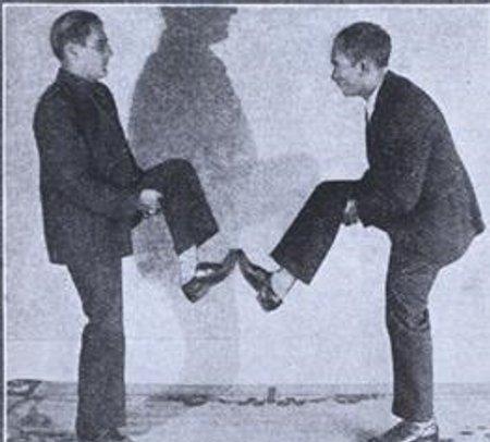 бокс ногами