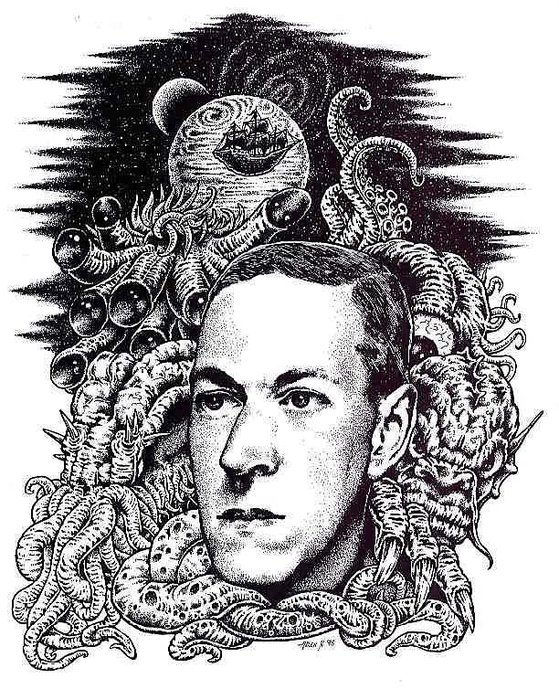 Говард Лавкрафт, который создал ужас BroDude.ru Lovecraft0353432792