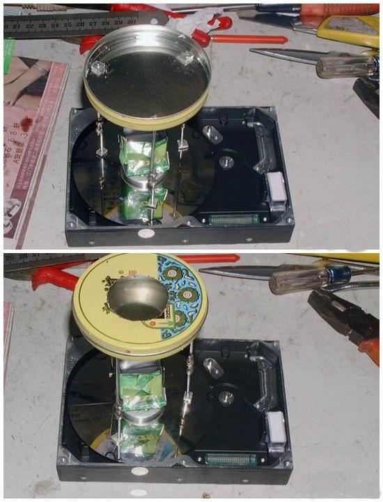 Как сделать из старого жесткого диска аппарат для приготовления сладкой ваты? BroDude.ru candy floos2015388414