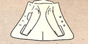 как сложить пиджак