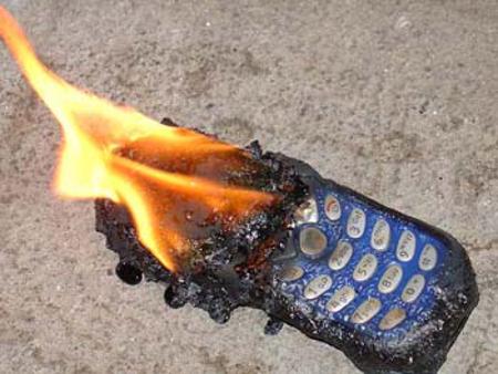 развести огонь из мобильника