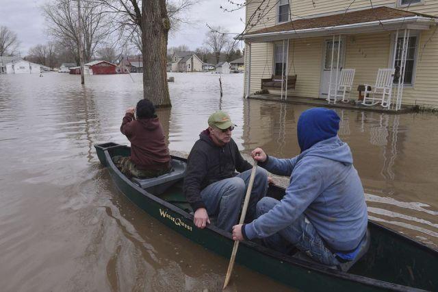 Spring Storms Flooding Illinois