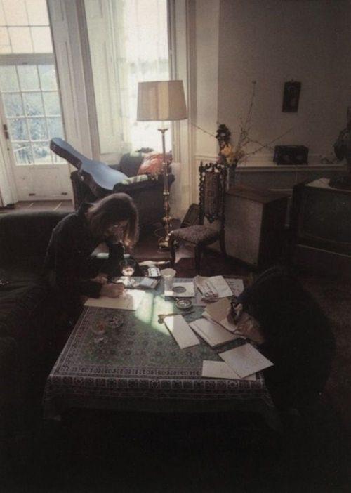 Джон Леннон и Йоко Оно, музыканты и художники