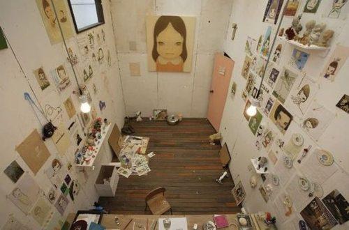 Йошимото Нара, художник
