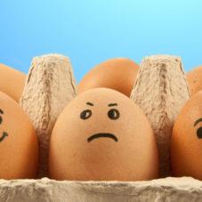 Жесткий способ сварить яйцо