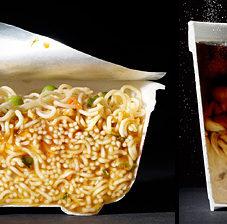 Еда в разрезе