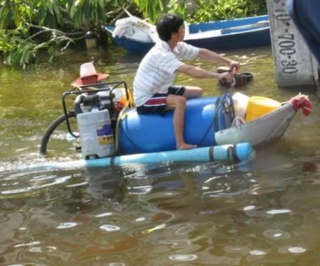 самодельный водный мотоцикл