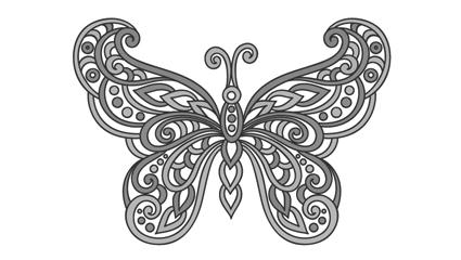 бабочка татуировка