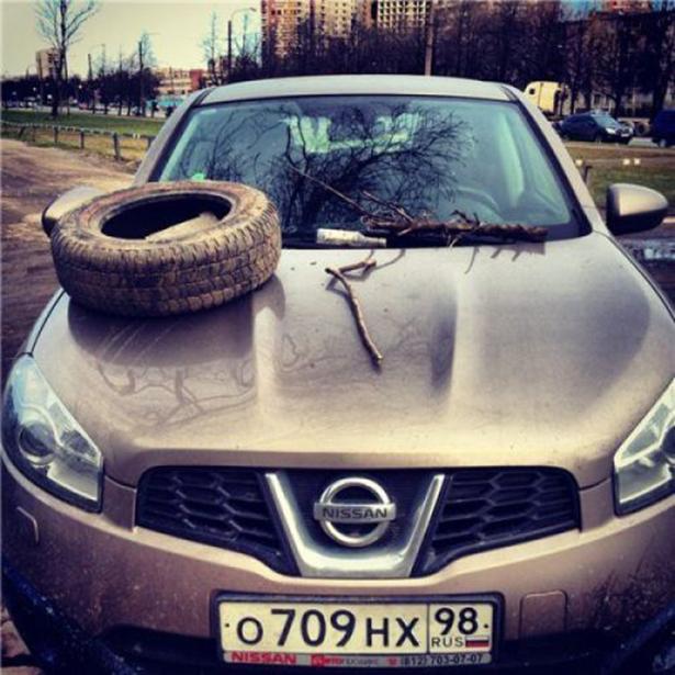 С твоей машиной что то не так BroDude.ru avto fail 0631507306