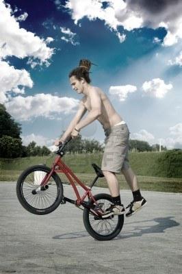 Бег vs. Велосипед BroDude.ru beg vs velosiped