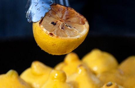 лимонад на гриле