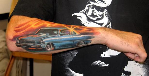 Татуировки на автомобильную тему BroDude.ru brodude.ru 1.11.2013 E8l9AXvi3ShME