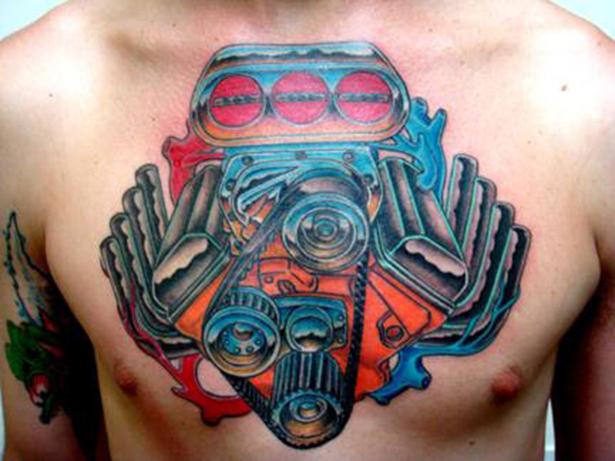Татуировки на автомобильную тему BroDude.ru brodude.ru 1.11.2013 mx85KdV25VDbV