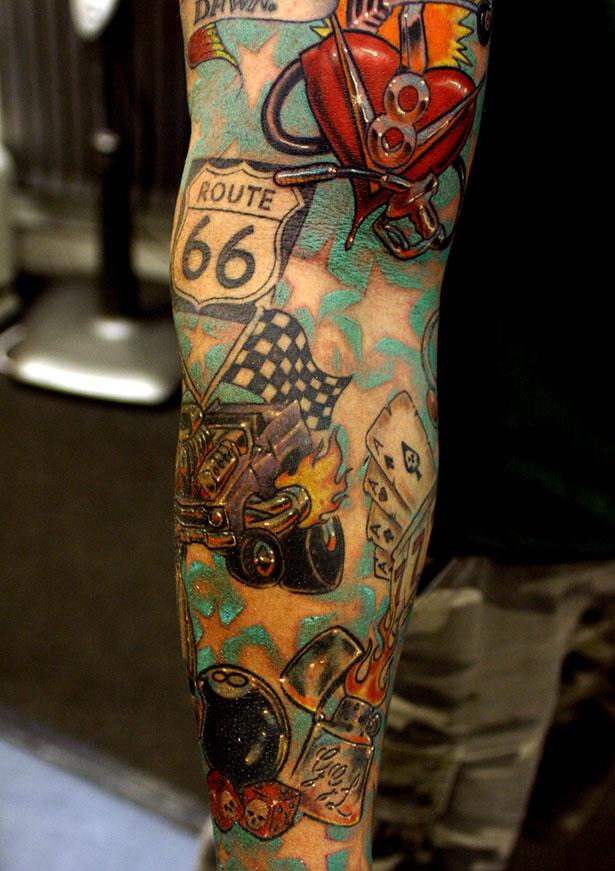 Татуировки на автомобильную тему BroDude.ru brodude.ru 1.11.2013 nHRBSyGyMbRfN