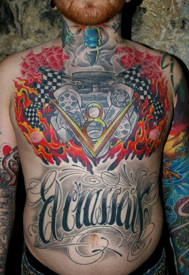 Татуировки на автомобильную тему BroDude.ru brodude.ru 1.11.2013 rr5CWSm9VCRYc