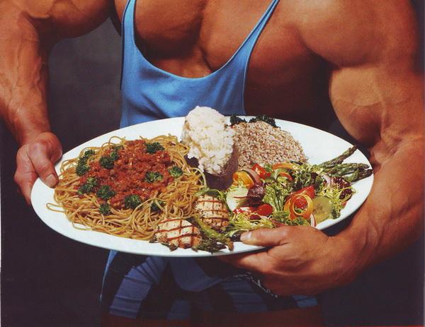 Натуральное питание для набора массы дома