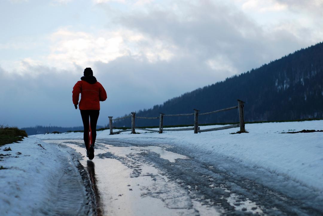 зачем бегать зимой