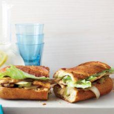 Идеальный мужской завтрак #4 — Сэндвич с курицей