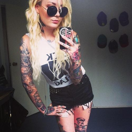 панкушка татуировки