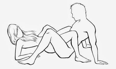 Секс поза зет