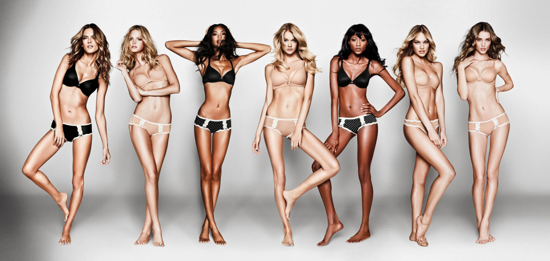 negative body image of women in