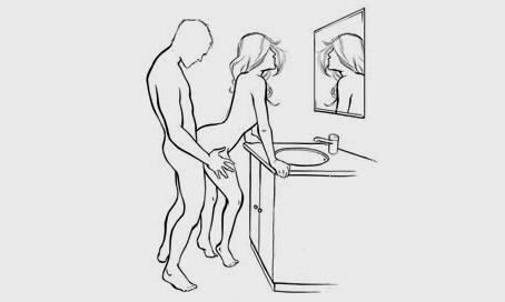 Секс оба стоячая поза