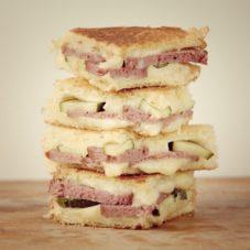 Идеальный мужской завтрак #14 -Правильный поджаренный сэндвич