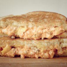 Идеальный мужской завтрак # 16 — Сладкий поджаренный сэндвич