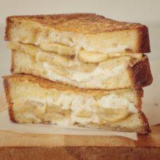 Идеальный мужской завтрак #18 — Сладкий бутерброд с бананом