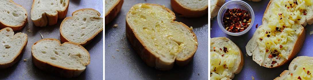 Чесночный бутерброд с сыром BroDude.ru