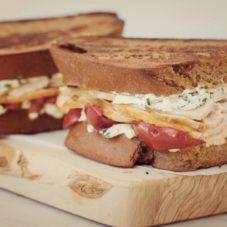 Идеальный мужской завтрак #21 — Сэндвич с ветчиной из индейки